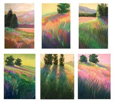 Landscape Painting in Pastels: CHAPTER TWENTY-THREE -- FREE YOURSELF FROM THE PHOTO
