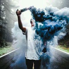 #crtumblr #blendbyins #color #smoke Ơ thế khói lại lên ngôi à ? ,,