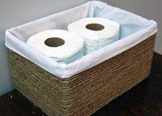 Transforme as caixas de papelão em bonitas cestas decorativa!