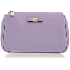 Furla Chantilly Xl Lilac Cosmetic Case found on Polyvore featuring beauty products, beauty accessories, bags & cases, purple, cosmetic purse, travel toiletry case, makeup purse, purse makeup bag and make up bag