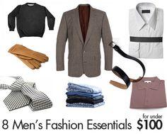 8 Men's Fashion Essentials for Under $100