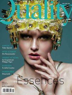 Ausgabe 31, Quality Essences  Foto: Oliver Rauh Cover, Creative, Blankets