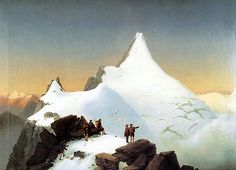 Mountain Pictures, Beautiful Places, World, Painters, Twitter, Art, Oil On Canvas, Mountain Climbers, Art Background