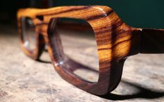 Wooden frames by Urban Spectacles