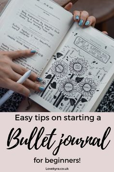 Starting a bullet journal is amazing for productivity and organisation. My super easy guide on starting a bullet journal will help you effortlessly organise your life and keep you entertained in lockdown. #bulletjournal #organisation #journaling Keeping A Bullet Journal, Bullet Journal For Beginners, Bullet Journal How To Start A, Fancy Pens, Simple Doodles, Mood Tracker, Organize Your Life, My Journal, Bullet Journal Inspiration