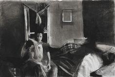 Tom's Room - Garrett J. Cook, Artist - Oil Paintings & Charcoal Drawings
