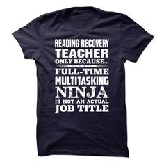 (Deal Tshirt 1hour) Proud Be A Reading Recovery Teacher [Tshirt Facebook]…