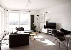 New Classically Scandinavian Apartment In Grey and White 2