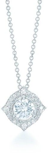 Buy Halo Diamond Pendant Necklace by Kwiat