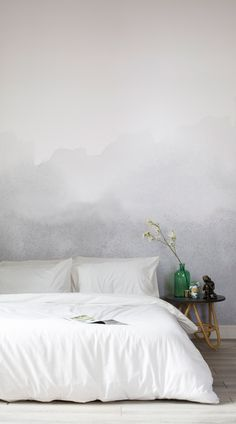 The Grey Blend Watercolour Wall Mural makes a welcome addition to both contemporary or classic style decor. An elegant wall mural displaying earthy hues of grey to add soft sophistication to any room while inspiring a serene atmosphere. Printed on premium quality wallpaper, durable and offering beautiful colour accuracy in a matte finish. #wallpaper #murals #wallmurals #interior #design #home #homedecor #decor #accentwall #inspiration