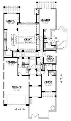 9746d8fcd960cea93a85b62591653d45--media-rooms-hot-tubs Narrow Lot House Plans Center Courtyard on narrow lot house plans cottage, narrow lot house plans lake, narrow lot house plans beach,