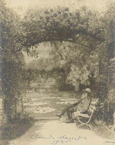 Claude Monet (1926)  Nickolas Muray (American, born Hungary. 1892–1965)