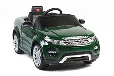 2015 Licensed Range Rover Evoque 12v Kids Ride on Power Wheels Battery Toy Car,Remote control,Lights,Music-Green