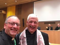 """.@antoniospadaro:  """"The first selfie with the new Father General of the #Jesuits fr. Arturo Sosa! #GC36"""""""