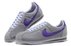 online store 18480 5fe85 Buy Hot Nike Cortez Oxford Cloth Men Shoes Grey Purple from Reliable Hot Nike  Cortez Oxford Cloth Men Shoes Grey Purple suppliers.