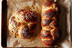 Jessica Fechtor's Five-Fold Challah Recipe on Food52, a recipe on Food52 Bread Recipes, Cooking Recipes, Epicurious Recipes, Diy Food Gifts, Edible Gifts, Thanksgiving Sides, Thanksgiving Appetizers, Thanksgiving Recipes, Fall Recipes