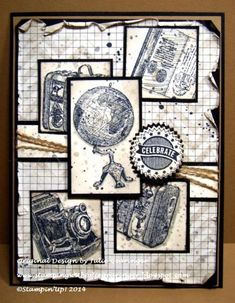 WT483 World Traveling Celebration :-) by Julie Gearinger - Cards and Paper Crafts at Splitcoaststampers