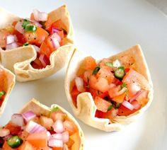 Tortilla Cups #TortillaCups #Tortilla
