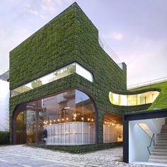Los 11 jardines verticales más espectaculares del mundo