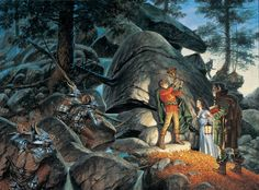 Darrell K. Sweet - The Great Hunt - Wheel of Time