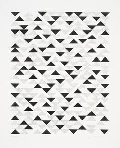 Anni Albers  Note: As a concept, we can create sophisticated tile patterns by purchasing off the shelf tiles in different colors.
