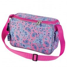 Kids Lunch Box & Bags: Watercolor Ponies Pink Lunch Cooler