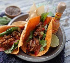 Vegan Lentil Tacos (use gluten-free tortillas)