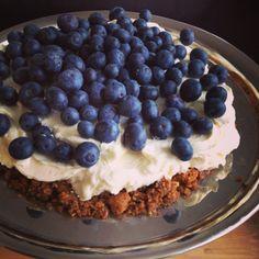 Rask ostekake med kvit sjokolade / quick no-bake cheesecake wihth white chocolate #30min