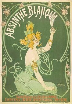 Henri de Toulouse-Lautrec | Absinthe Blanoui