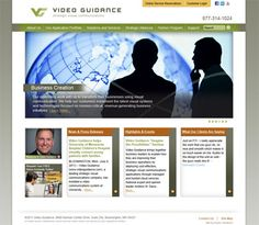 Web design for Video Guidance. Faster Solutions: www.fastersolutions.com