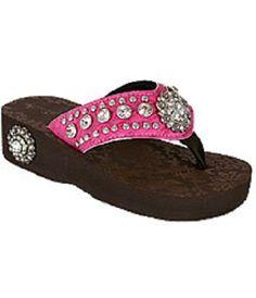 love :) Western flip flops