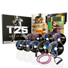 FOCUS T25 Shaun Ts NEW Workout DVD ProgramGet It Done in 25 Minutes -- Click image for more details. (Note:Amazon affiliate link)