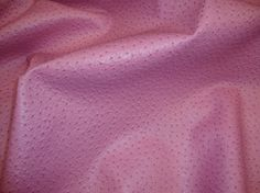 Pink Ostrich EMU Upholstery faux Vinyl fabric per yard $21-$23