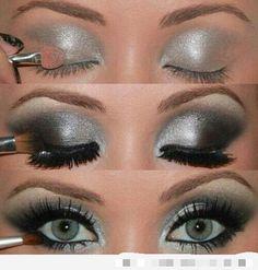 Maquillaje de ojos espectacular..