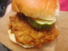 Hen Penny Classic Chicken Sandwich- Taste of Reston 2017: Review by The He Said She Said Experience #yum #chicken #foodie