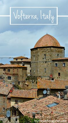 A day trip to Volterra Italy ✈✈✈ Don't miss your chance to win a Free International Roundtrip Ticket to Pisa, Italy from anywhere in the world **GIVEAWAY** ✈✈✈ https://thedecisionmoment.com/free-roundtrip-tickets-to-europe-italy-pisa/