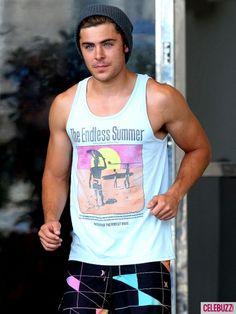 Zac Efron...someone's been workin out