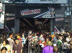 Comic Con 2015 NYC.