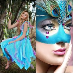 New Adult Party Fairy Dress   Mardi Gras  by SugarSweetFairies, $79.00