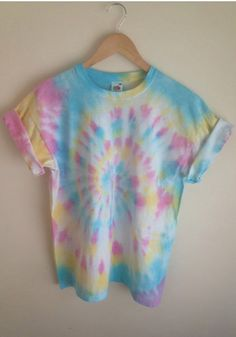Love the colors / tie dye / pastel tie dye / light tie dye / @hufflethepuffle 's pinterest More