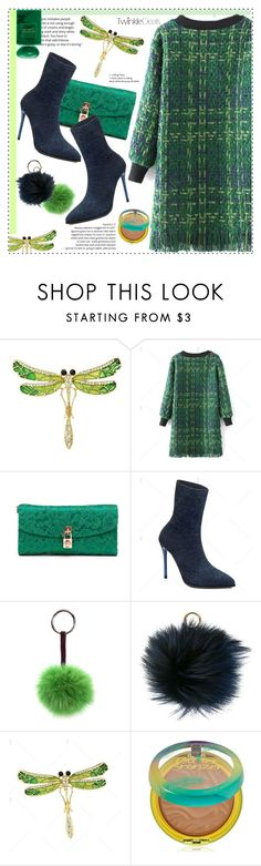 """Holiday Party Makeup"" by duma-duma ❤ liked on Polyvore featuring beauty, Dolce&Gabbana, MICHAEL Michael Kors, Physicians Formula, Giorgio Armani and Beauty"