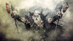 The Barbarian by hounworks.deviantart.com on @DeviantArt