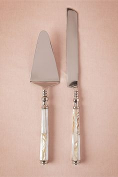 Pearled Serving Set in Décor Cake Accessories at BHLDN