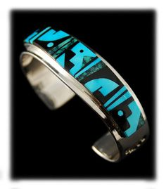 Native American Turquoise Inlay cuff Bracelet that I wouldn't mind owning...