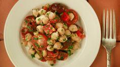 Chickpea salad with chorizo (Garbanzos alinados con chorizo) and 2 more recipes for Gluten Free Wednesday