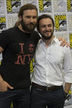 Clive Standen & George Blagden ..Love these two on twitter :))