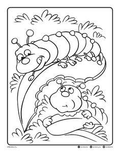 Follow the link below to download this coloring page! http://www.bendonpub.com/upload/coloring-pages/may-2015-caterpillars.pdf