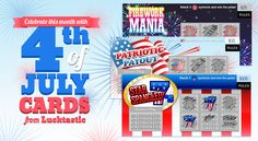 4th of July Lucktastic Scratch Cards