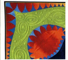 Philippa Naylor--perfect trapunto and free-motion quilting! FMQ