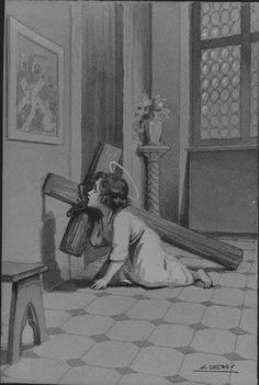 My Jesus help me to follow you! I want to carry my cross just like You carried yours. Religious Pictures, Jesus Pictures, Religious Art, Catholic Kids, Catholic Prayers, Jesus E Maria, Linear Art, Religion Catolica, Christian Pictures